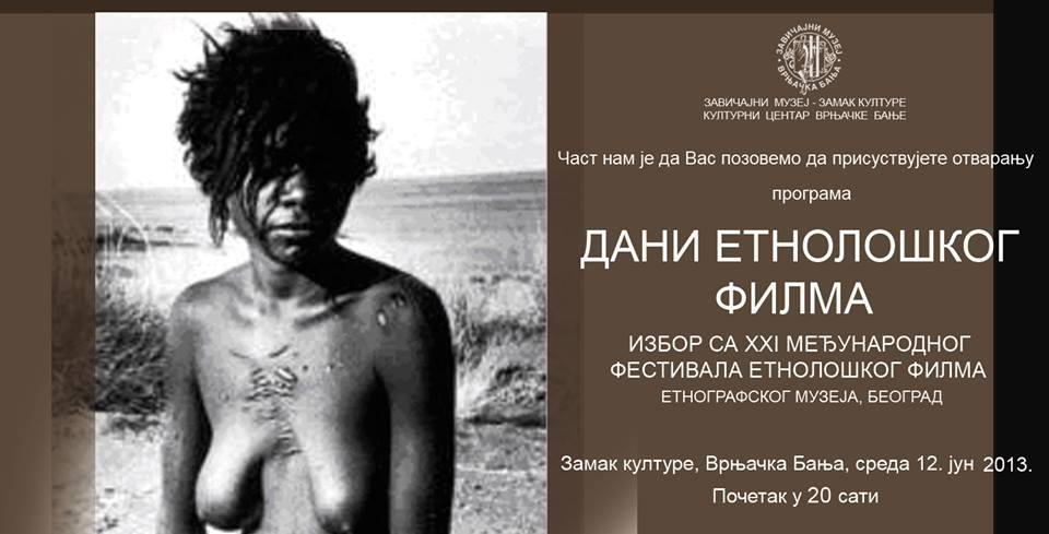 slika dani etnoloskog filma u vrnjackoj banji