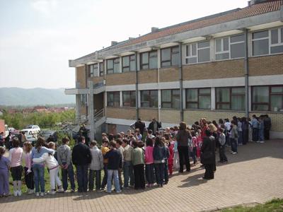 Završetak sale u školi Piskavac
