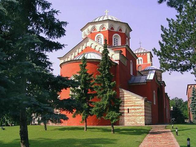 manastir zica nadomak vrnjacke banje