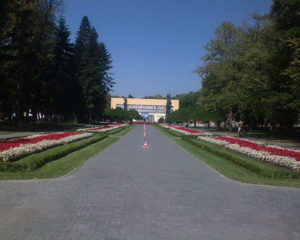 park u vrnjackoj banji