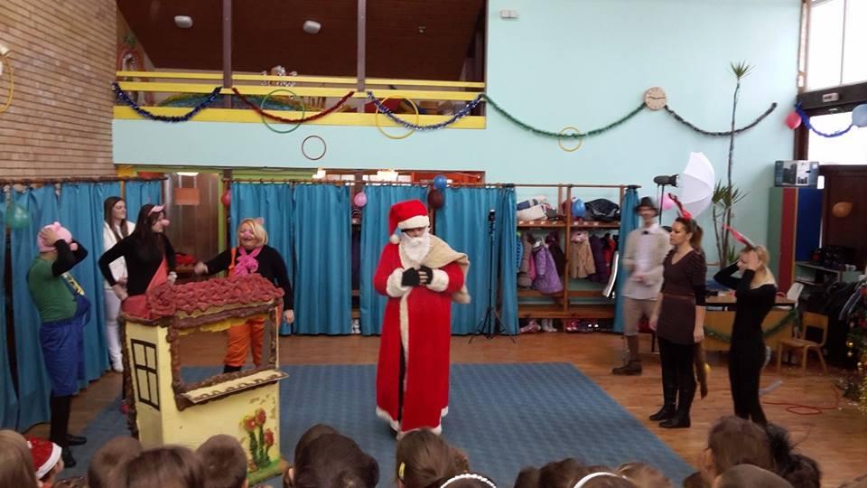 Deda  Mraz stigao u vrnjačke vrtiće 1